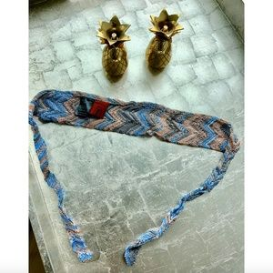 Missoni Accessories - Missoni Woven Tie Headband